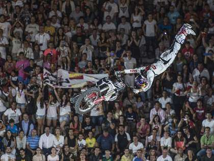 Dany Torres, en el X-Fighters de 2014.