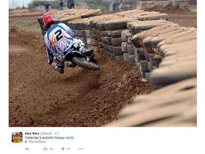 Álex Rins en el TT World Series
