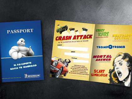 "Plan Joven de Seguridad Vial ""Crash Attack"" de Michelin"