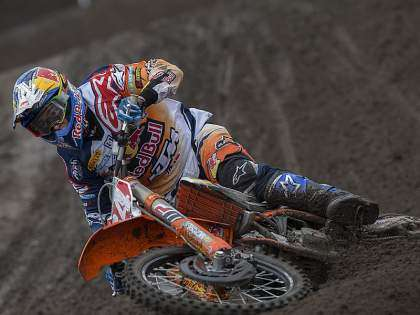 MXGP Valkenswaard 2016: Jeffrey Herlings.