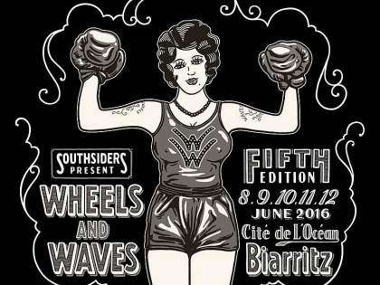 Cartel oficial del Wheel & Waves 2016