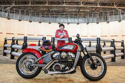 Indian Scout - Guy Martin