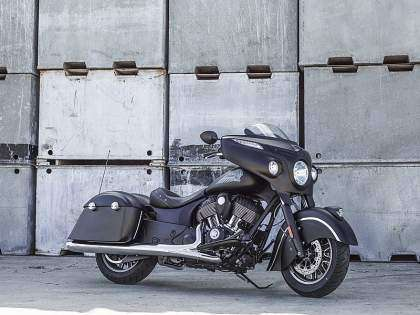 Indian Chieftain Dark Horse lateral