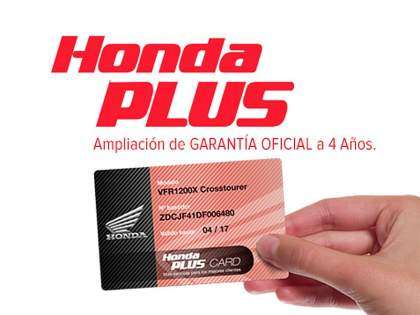 Plan de financiación Honda Plus