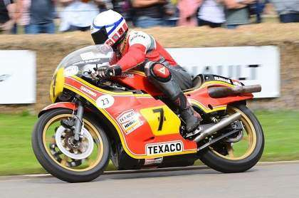 Freddie Sheene en el GoodWood Festival 2016