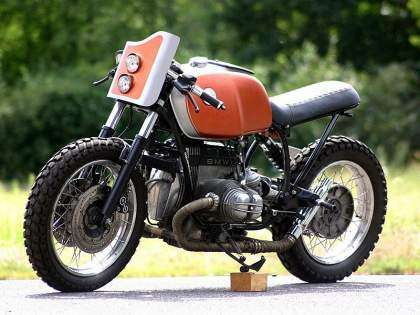 BMW R100R Brat Cafe por Rough Cycles