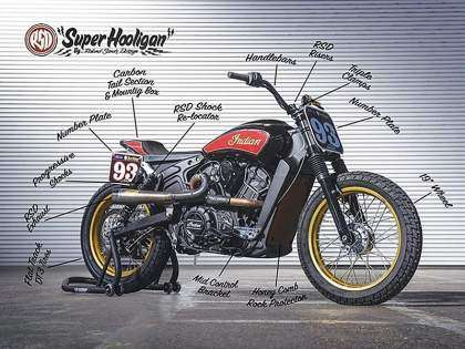 Indian Scout RSD Super Hooligan