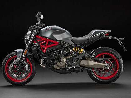Ducati Monster 821 2017 lateral