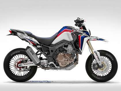 Honda Supermoto CRF1000 Africa Twin
