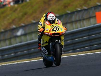 Alex Rins no puntuó en Motegi.