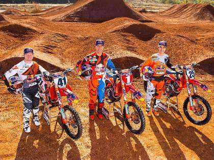 KTM Red Bull Supercross 2017.