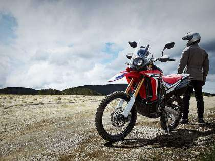 Honda CRF250 Rally  Frontal