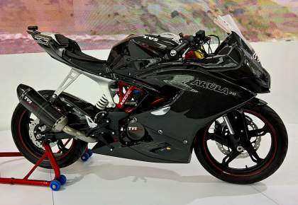 TVS Akula 310, la posible base de la BMW G 310 RR