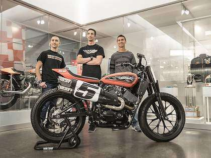 Equipo Harley-Davidson Factory Team