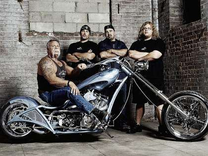 Reparto original de American Chopper