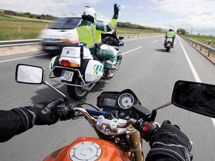 Medidas para evitar accidentes de moto