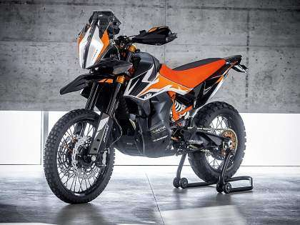 KTM 790 Adventure R Prototype 2018