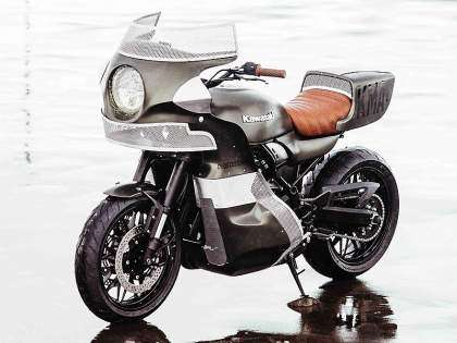 "Kawasaki Z900RS ""The Goose"" por Deus Ex Machina"