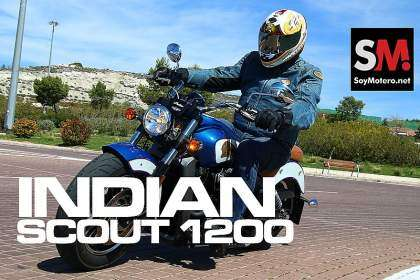 Nos subimos a la Indian Scout 1200