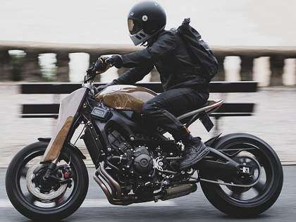 Yamaha XSR900 'Alter' by Dab Motors