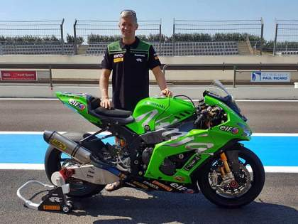 David Checa ficha por el Team SRC Kawasaki France