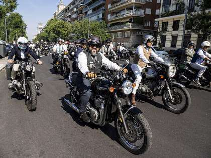 Ambiente del Distinguished Gentleman's Ride