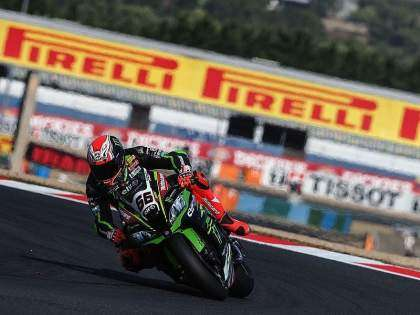 Tom Sykes en Magny-Cours