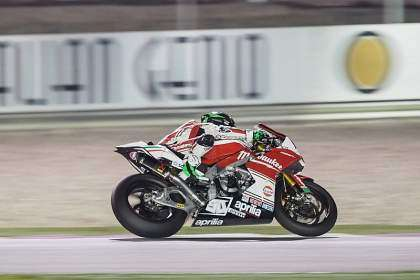 Laverty, dominador en la noche de Qatar