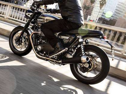 Triumph Speed Twin 2019 gris