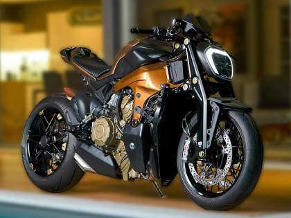 Ducati Panigale V4 Streetfighter por Officine GP Design