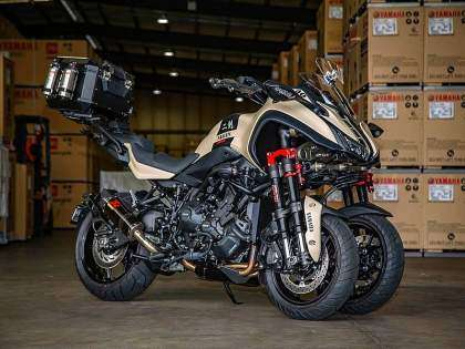 Yamaha Niken Turbo por Trooper Lu's Garage