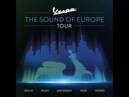 "Llega el Vespa ""The Sound Of Europe Tour"""