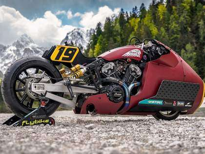 "Indian Scout Bobber ""Appaloosa"""