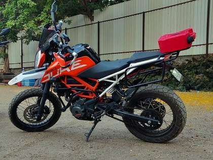 KTM 390 Adventure por HDT Customs