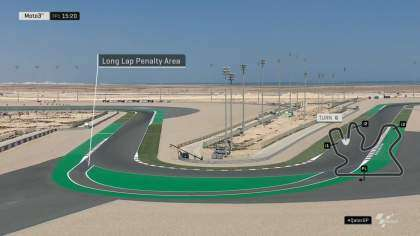 Long Lap Penalty en Qatar