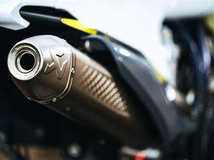 Akrapovic Slip ON Exhaust