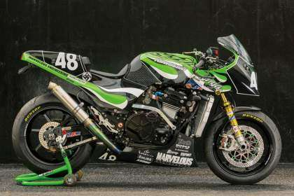 Kawasaki GPZ900R por Marvelous Engineering