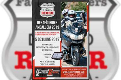 Cartel del Factory Riders 2019