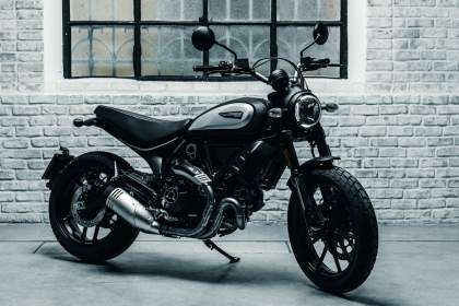 Ducati Scrambler Icon Dark 2020