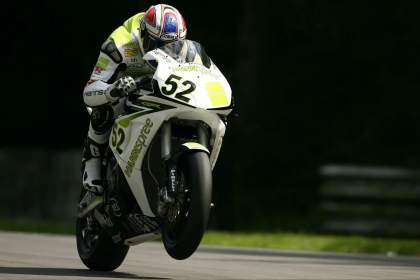 James Toseland en 2007 con Honda