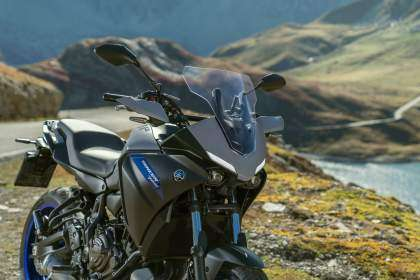 Yamaha Tracer 700 2020 en color 'Icon Grey'
