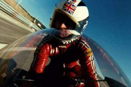 Phil Read (MV Agusta 500) on board en la película 'Le Cheval de Fer'