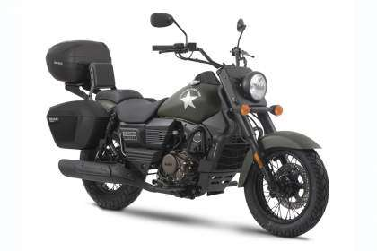 UM Renegade Commando 125 Grand Tourer 2020