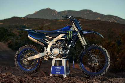 Yamaha YZ250F Monster Edition 2021