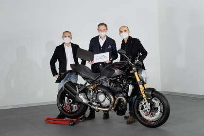 Ducati Monster número 350.000