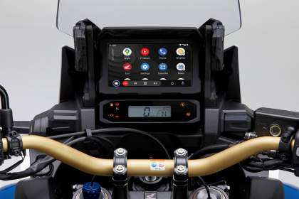 Android Auto Honda Africa Twin