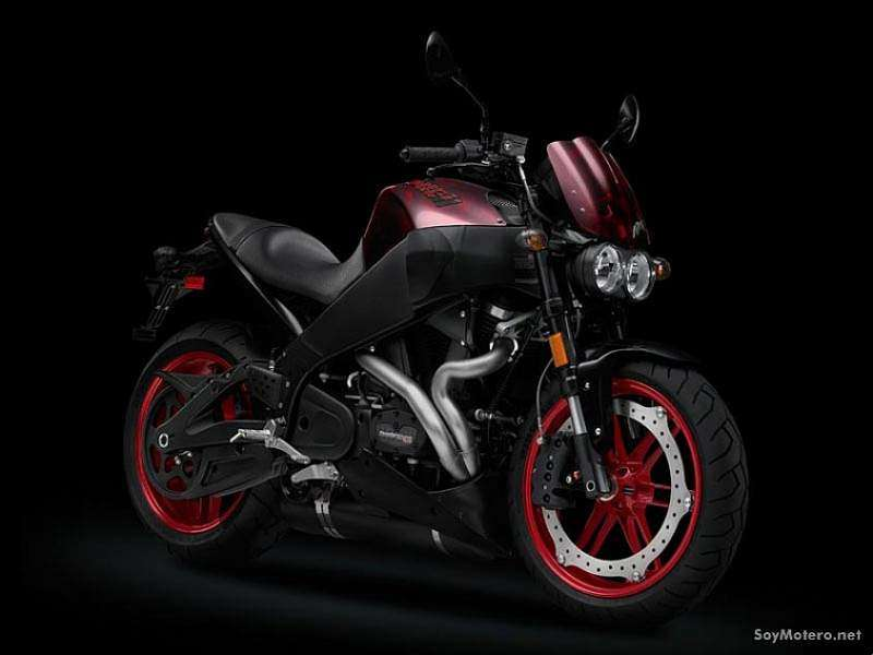 Buell XB12Scg color rojo