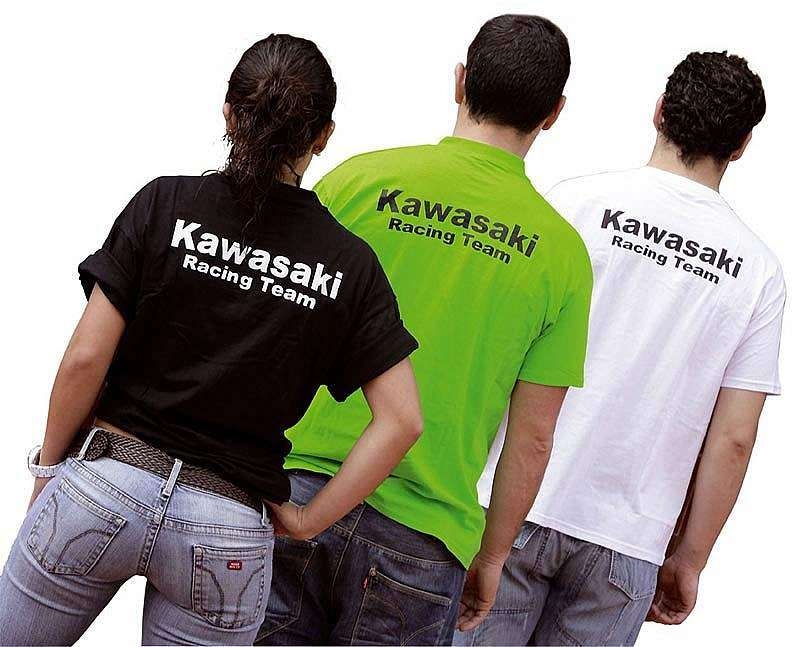 Camisetas Kawasaki Racing Team