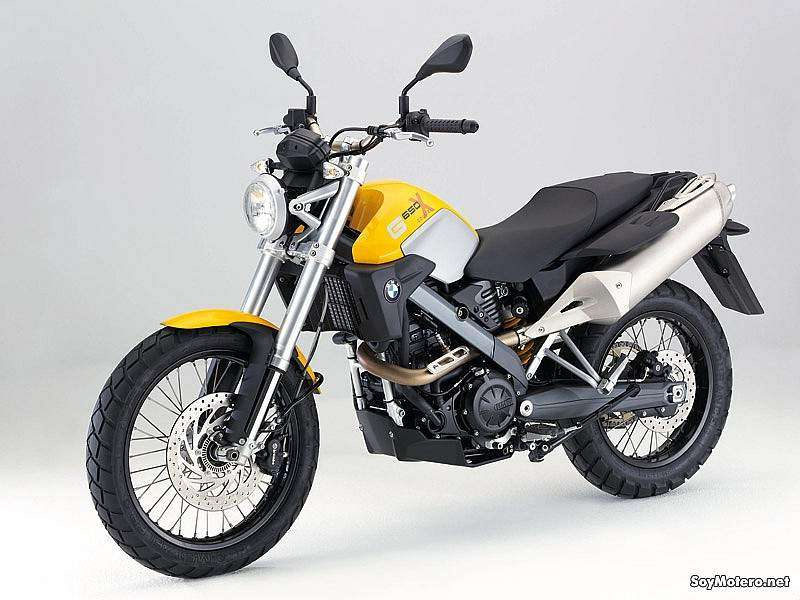 BMW G 650 Xcountry - color amarillo