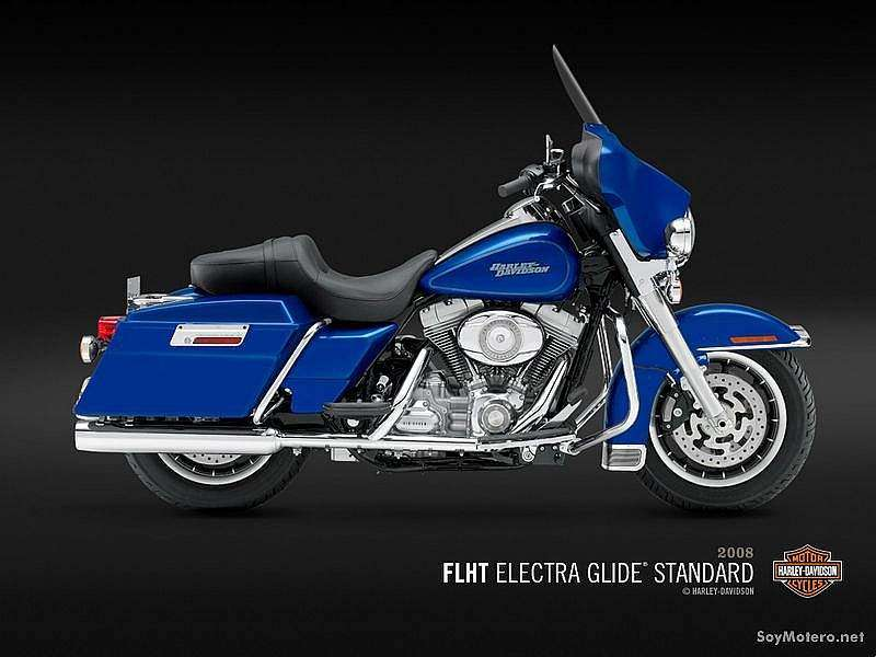Harley Davidson Electra Glide® Standard - Pacific Blue Pearl